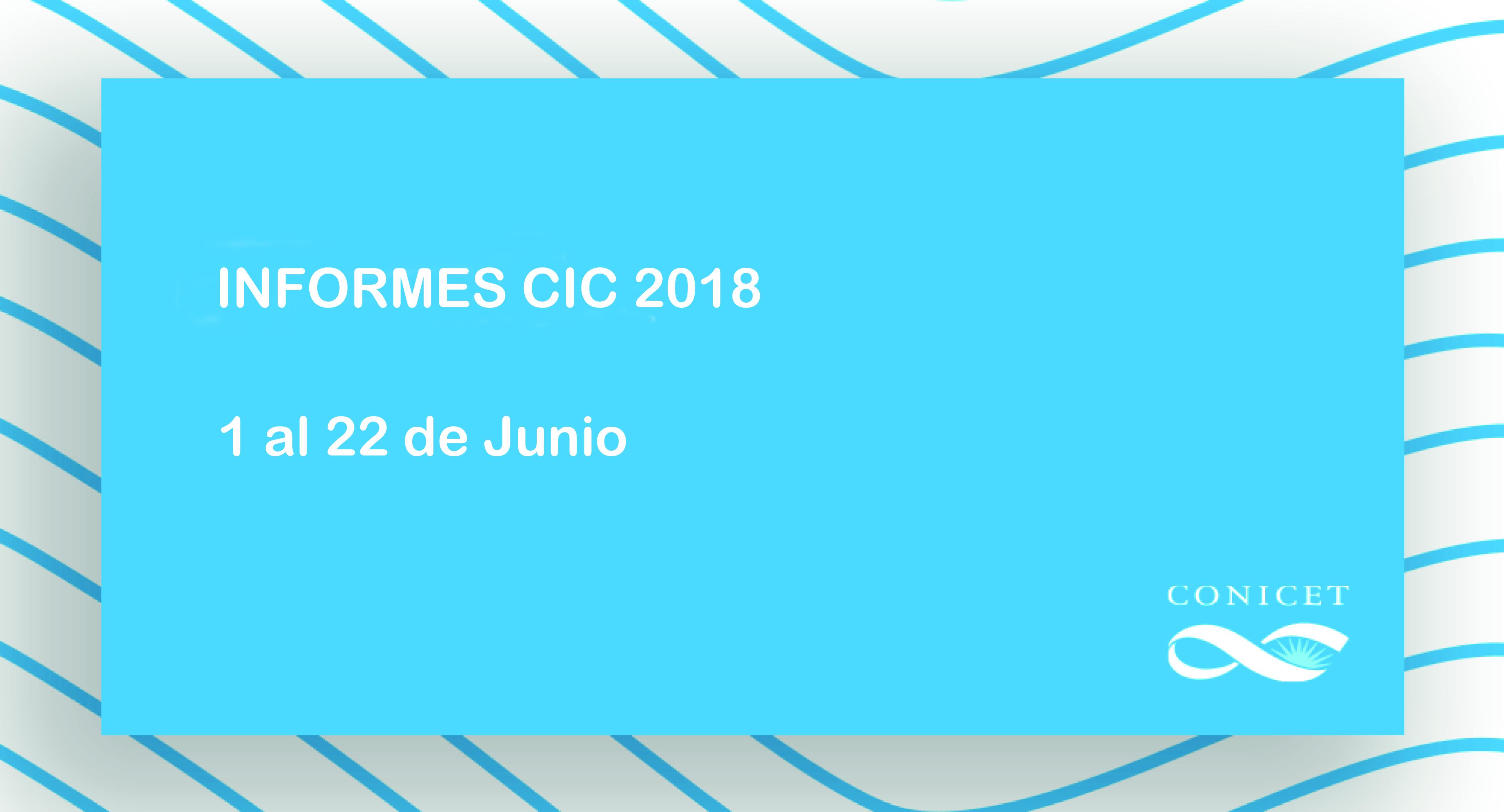 Informes CIC
